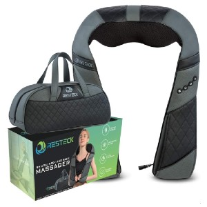 RESTECK Massagers for Neck and Back with Heat - Best Back Massager on Amazon: Alleviate Acute Pains and Muscle Soreness