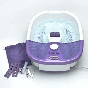 Revlon Invigorating Pedicure Foot Spa - Best Foot Spa for Home: Quick on/off access