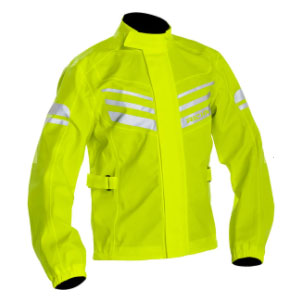 RICHA RAIN STRETCH JACKET - Best Raincoat for Motorcycle Riders: Extremely Smooth with Slim Impression