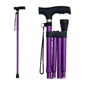 RMS Royal Medical Solutions Offset Walking Cane - Best Walking Sticks for Arthritic Knees: Lightweight and Adjustable Height