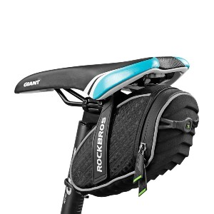 ROCKBROS Bike Seat Bag Waterproof - Best Bicycle Saddle Bag for Touring: Great for any terrains