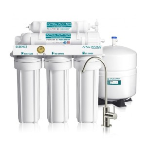 APEC Water ROES-50 - Best Water Filtration Home System: Removes Wide Range of Tap Water Contaminants