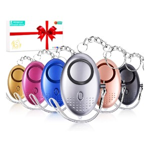 ROMILE Safe Sound Personal Alarm - Best Safety Alert System for Seniors: Six-packs for the price of one