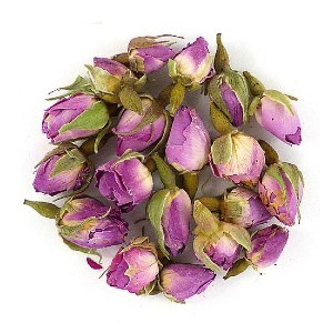 Treasure Green Rose Buds  - Best Tea for Sleep: Stress Reduction, Reduce Fatigue, High In Antioxidants