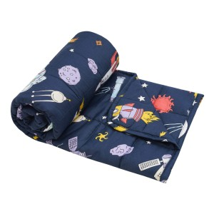 ROSMARUS Kids Weighted Blanket - Best Weighted Blanket for Kids: 7 layers structure