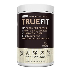 RSP TrueFit Protein Powder Meal Replacement - Best Healthy Protein Powder: Healthy Ingredients for Gut Health