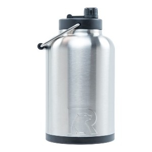 RTIC Vacuum Insulated Large Water Bottle - Best 1 Gallon Stainless Steel Water Jugs: Extra-Wide Opening Jug