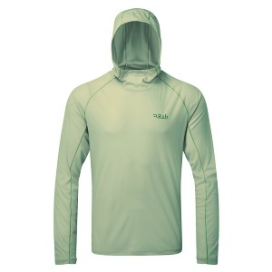 Rab Men's Pulse Hoody - Best Base Layers for Hiking: Base Layer with Hood