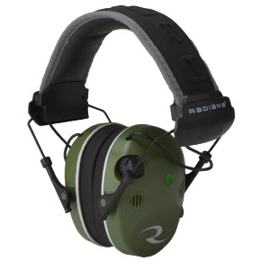 Radians R3400 Quad Mic Stereo Jack - Best Shooting Hearing Protection: Electronic Compression to Protect Hearing