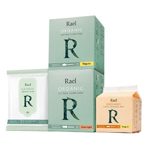 Rael Organic Pads Value Packs  - Best Organic Pads for Tweens: One-time solution