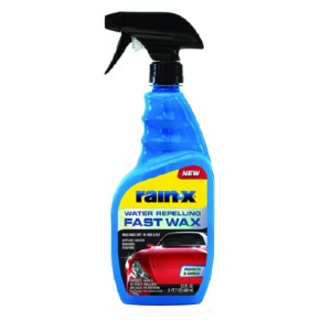 Rain-X Store Water Repelling Fast Wax - Best Car Wash Soap: Easy spray on formula