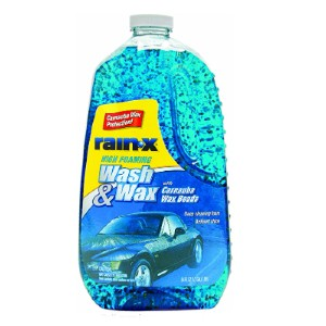 Rain-X Store Carnauba Wax Protection - Best Car Wash Soap: Car wash soap for brilliant shining car