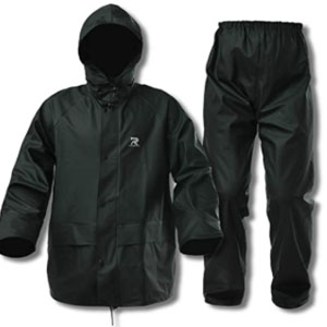 RainRider Rain Suits for Men Women Waterproof  - Best Raincoat for Boating: Raincoat with Double Front Pockets