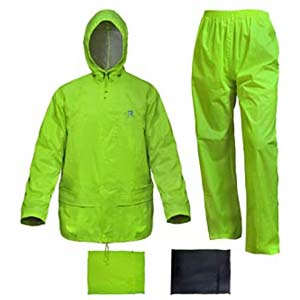 Rain Rider Rain Suits for Men Women - Best Raincoats for Cycling: Easy to spot