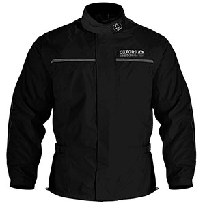Oxford Rainseal All Weather Over Jacket  - Best Raincoat for Motorcycle Riders: Night-time Visible Reflective Detailing