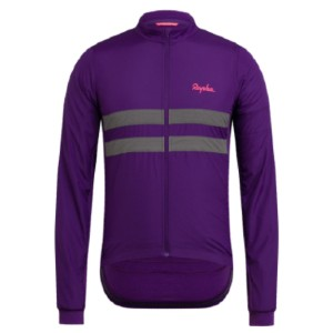 Rapha MEN'S BREVET LONG SLEEVE WINDBLOCK JERSEY - Best Cycling Jerseys: Quick-drying and Lightweight