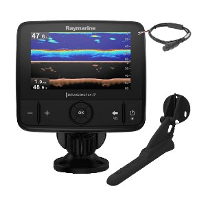 Raymarine Dragonfly Pro 7 - Best Fish Finders for Saltwater: Broad Spectrum CHIRP Technology