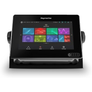 Raymarine Axiom 7 Fish Finder with Built in GPS - Best Fish Finders GPS Combo: Navionics+ Charts