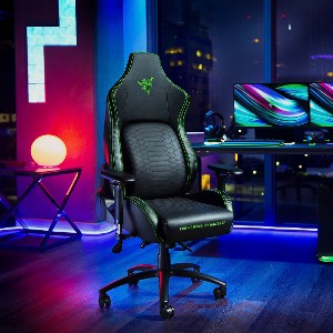 Razer Iskur - Best Gaming Chairs for Back Pain: Gaming Chair with Built-in Lumbar Support