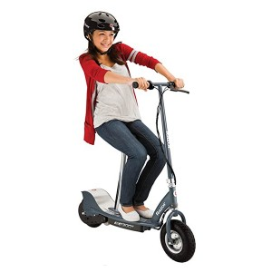 Razor E300S Seated Electric Scooter - Best Electric Scooter with Seat: Ideal for short distances