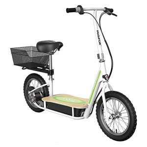 Razor EcoSmart Metro Electric Scooter  - Best Electric Scooter with Seat: Comes with a cargo carrier