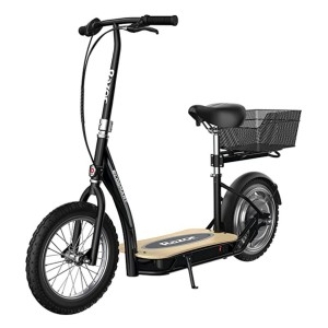 Razor EcoSmart Metro Electric Scooter - Best Electric Scooter Under $1000: With a seat and cargo carrier