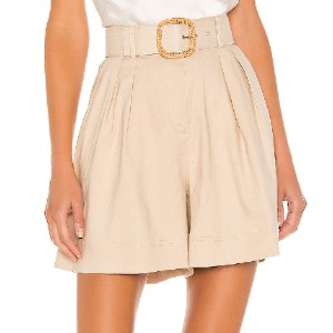 Rebecca Vallence Mojito Short  - Best Shorts for Big Thighs: High Waist Design with Belt