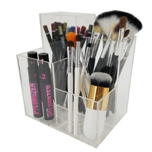 Rebrilliant Munich Rotating Cosmetic/Makeup Organizer Tray - Best Makeup Brush Holder: Rotating Base Holder