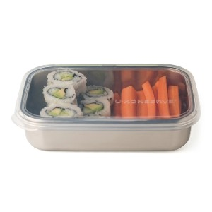 U Konserve Rectangle Container - Best Lunch Boxes for Adults: Easy to Sanitize and Dishwasher Safe