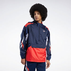 Reebok CLASSICS WINDBREAKER - Best Jacket for Wind: Maximum protection windbreaker jacket