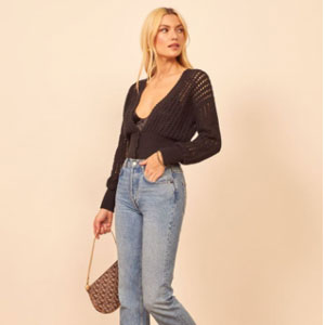 Reformation Erin Sweater - Best Jacket for Summer: Chic sweater outer