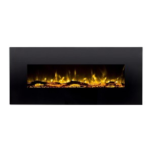 Regal Flame Denali Black 60 Log - Best Electric Fireplace Wall Mount: Looks great in any room