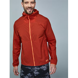 REI Co-op Flash Jacket - Men's - Best Jacket for Wind: Jacket that pack becomes a waist pack