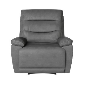 Lifestyle Solutions Relax A Lounger Lincoln  - Best Recliners for Heavy Person: Soft and Easy to Care for Leather Gel