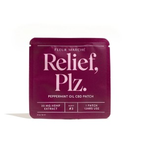 FLEUR MARCHÉ Relief, Plz. - Best Patches for Motion Sickness: Faster Recovery, Made Painless
