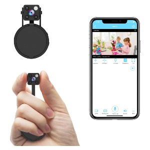 Relohas Hidden Camera with Audio Live Feed WiFi - Best Spy Camera with Audio: Simple Tiny Spy Camera