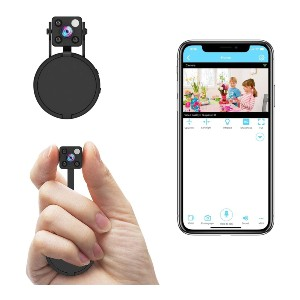 Relohas Hidden Camera with Audio Live Feed WiFi - Best Spy Camera with Longest Battery Life: Spy Camera with Autofocus Feature