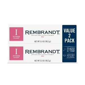 Rembrandt Intense Stain Whitening Toothpaste - Best Toothpaste to Use with Braces: Best for teeth whitening