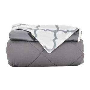 LUXOME. Removable Cover Weighted Blankets - Best Weighted Blanket for Hot Sleepers: No Weight Bunching or Excess Heat