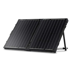 Renogy 100W 12V Monocrystalline Off Grid Portable - Best Power Station Portable: Best for low-light environments