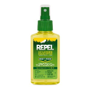 Repel Lemon Eucalyptus Natural Insect - Best Mosquito Repellent Spray for Body: DEET-Free Insect Repellant