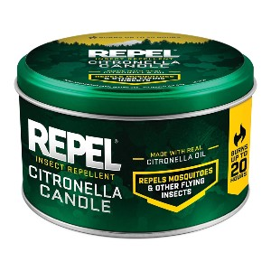 Repel Citronella Insect Outdoor Candle - Best Mosquito Repellent Hiking: Scented Candle Insect Repellent