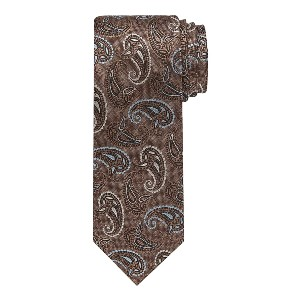 Jos A Bank Reserve Collection Paisley Tie - Best Ties for Black Suits: Rich textures, elegant hues