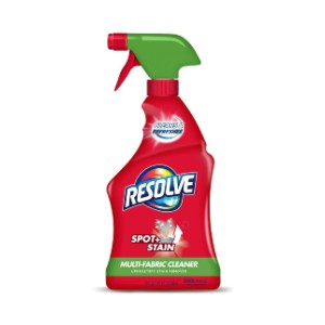 Resolve Multi-Fabric Cleaner - Best Cleaning Solution for Upholstery: Safe to Use On Most Household Fabrics