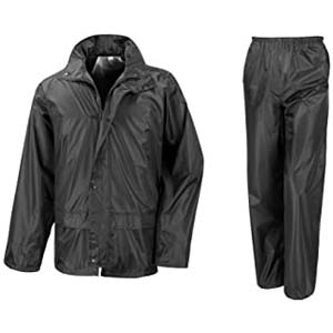 Result Result Mens Core Rain Suit (Trousers And Jacket Set) - Best Raincoats for Men: Simple, affordable, comfortable