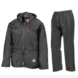 Result Waterproof Jacket/Trouser Suit in Carry Bag - Best Raincoats for Fishing: Easy to Dry Raincoat
