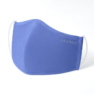 Jaanuu Reusable Antimicrobial Finished - Best Masks for Glasses Wearers: All 5 Packs are In a Single Color