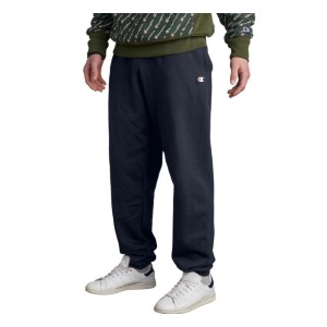 Champion Reverse Weave Sweatpants - Best Sweatpants for Tall Men: Elastic Cuffs and Waistband with Inner Drawcord