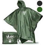 10 Recommendations: Best Raincoats for Cycling (Oct  2020): 3-in-1 rain poncho