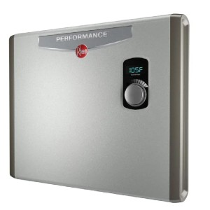 Rheem Performance 36 kw Self-Modulating 7.03 GPM Tankless Electric Water Heater - Best Tankless Water Heaters: Space-Saving Water Heater